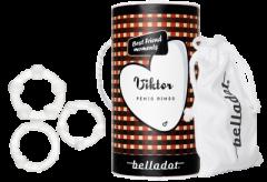 Belladot Viktor Penis Rings 3 kpl