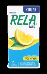 Rela tabs Mild Lemon  10 purutabl