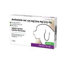 ANTHELMIN VET 175/504/525 mg tabl 2 fol